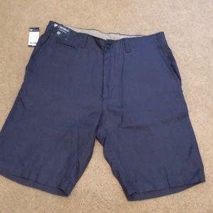 NWT Cremieux vintage blue linen shorts